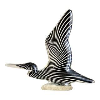 Abraham Palatnik Op Art Lucite Bird For Sale