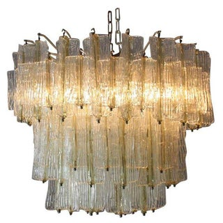 1950s Three Tier Murano Chandelier by Toni Zuccheri Preview