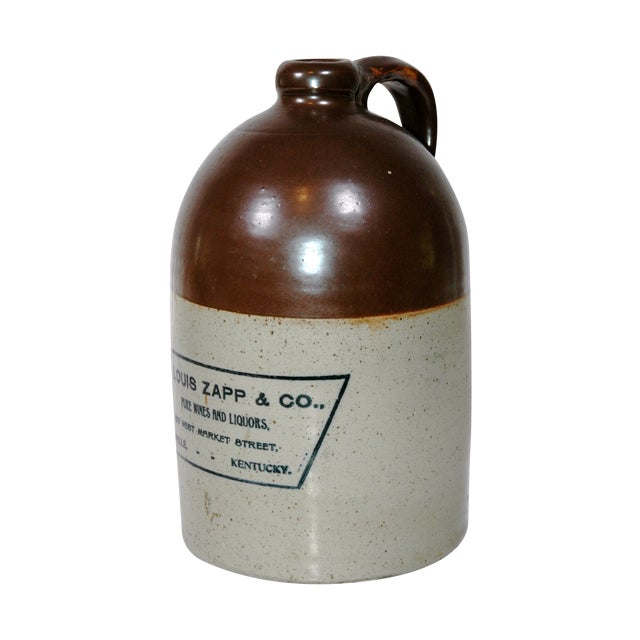 Louis Zapp & Co. Whiskey Jug For Sale