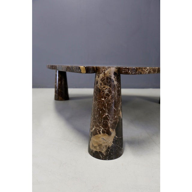 Mid-Century Modern Angelo Mangiarotti for Skipper Production Large Side Table, Original Label, 1970 For Sale - Image 3 of 8