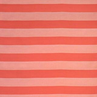 "Sunbrella ""Carolina Melon"" Indoor/Outdoor Upholstery Striped Fabric by the Yard"