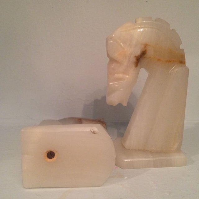 Onyx Horse Bookends - Image 8 of 8