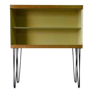 Mid-Century Modern Bookcase on Hairpin Legs