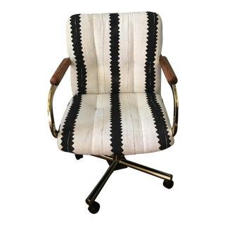 Black & White Desk Chair