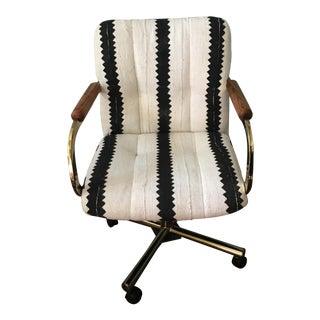 Black & White Desk Chair