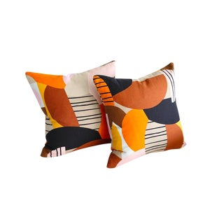 Marimekko Britta Maj Throw Pillows - A Pair