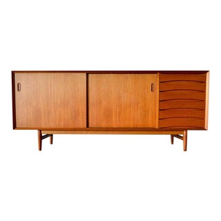 1960s Arne Vodder for Sibast Teak Model 29 Credenza For Sale