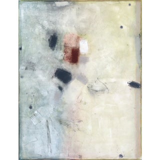 """Minimalist Original Painting by Bernhard Zimmer, """"Awh77"""" For Sale"""