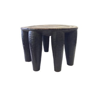 African Old Nupe Low Stool I Coast