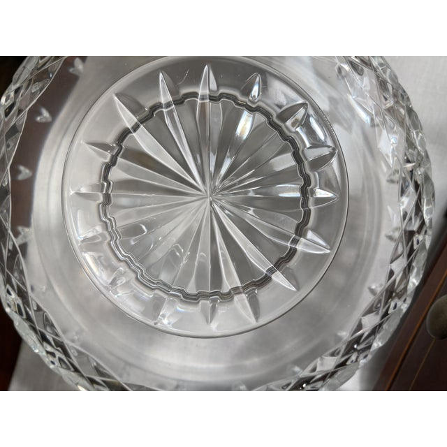 2010s Waterford Crystal Footed Bowl, Lismore Pattern For Sale - Image 5 of 8