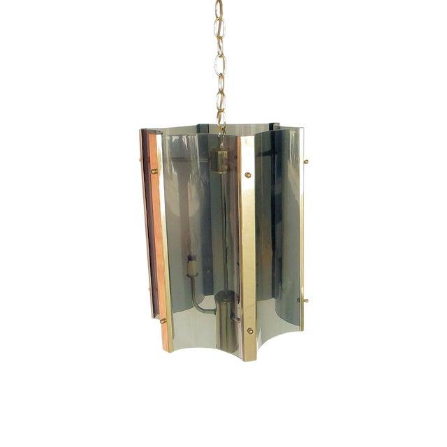 1970s Plexiglass Pendant - Image 1 of 4