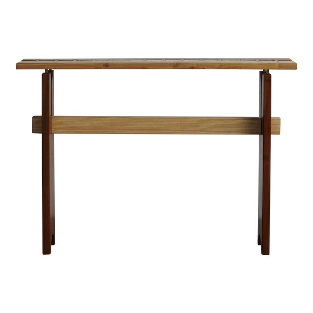 Modern Stitch Side Table For Sale