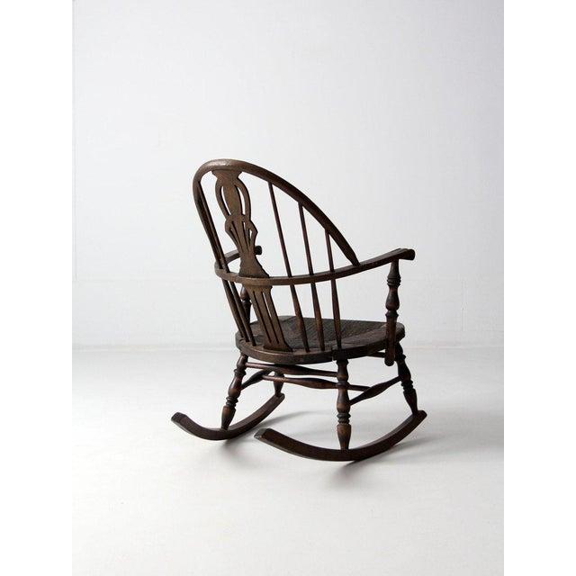 Antique Windsor Rocking Chair For Sale - Image 6 of 7 - Antique Windsor Rocking Chair Chairish