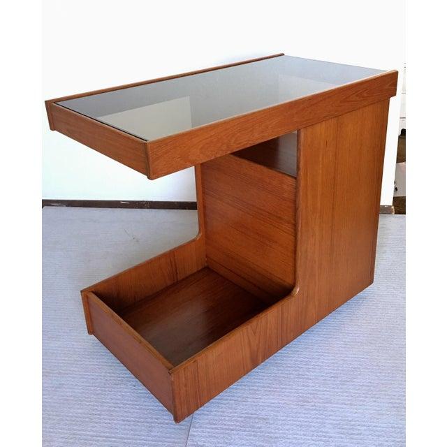 Pedersen & Hansen Danish Modern Bar Cart - Image 2 of 11