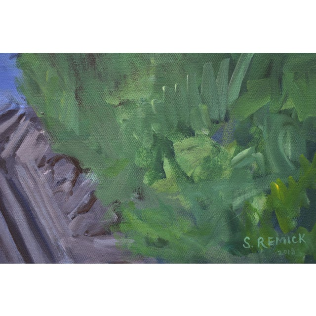 """Canvas """"Ruts in the Field to the Chicken Coop"""" Painting For Sale - Image 7 of 12"""