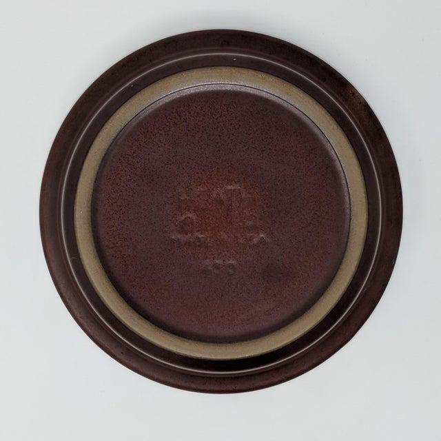 1980s 1980's Vintage Heath Ceramics Rim Line Serving Bowl For Sale - Image 5 of 8
