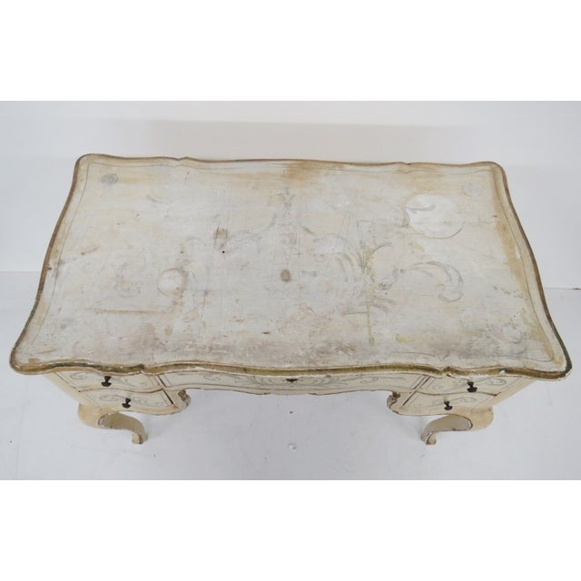 Chippendale Style Distressed Vanity - Image 2 of 5