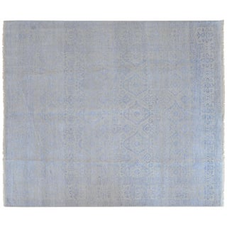 Stark Studio Rugs Contemporary New Oriental 80% Wool/20% Cotton Rug - 8′1″ × 9′6″ For Sale