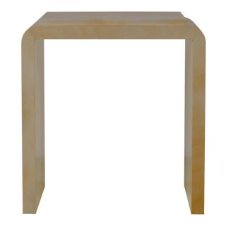 20th Century Chic Parchemin Side Table For Sale