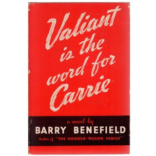 Valiant Is the Word For Carrie For Sale