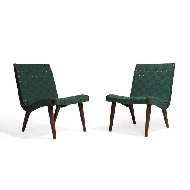Jens Risom for Knoll Studio Lounge Chairs For Sale In San Francisco - Image 6 of 11