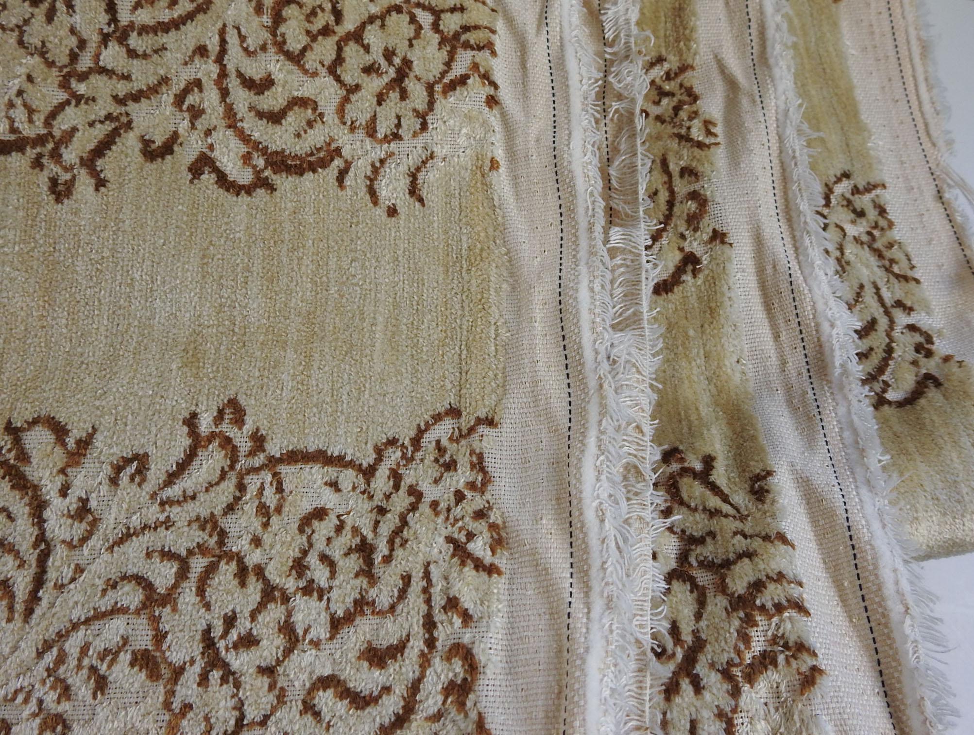 Burnout Velvet Upholstery Fabric 8 Yards Chairish