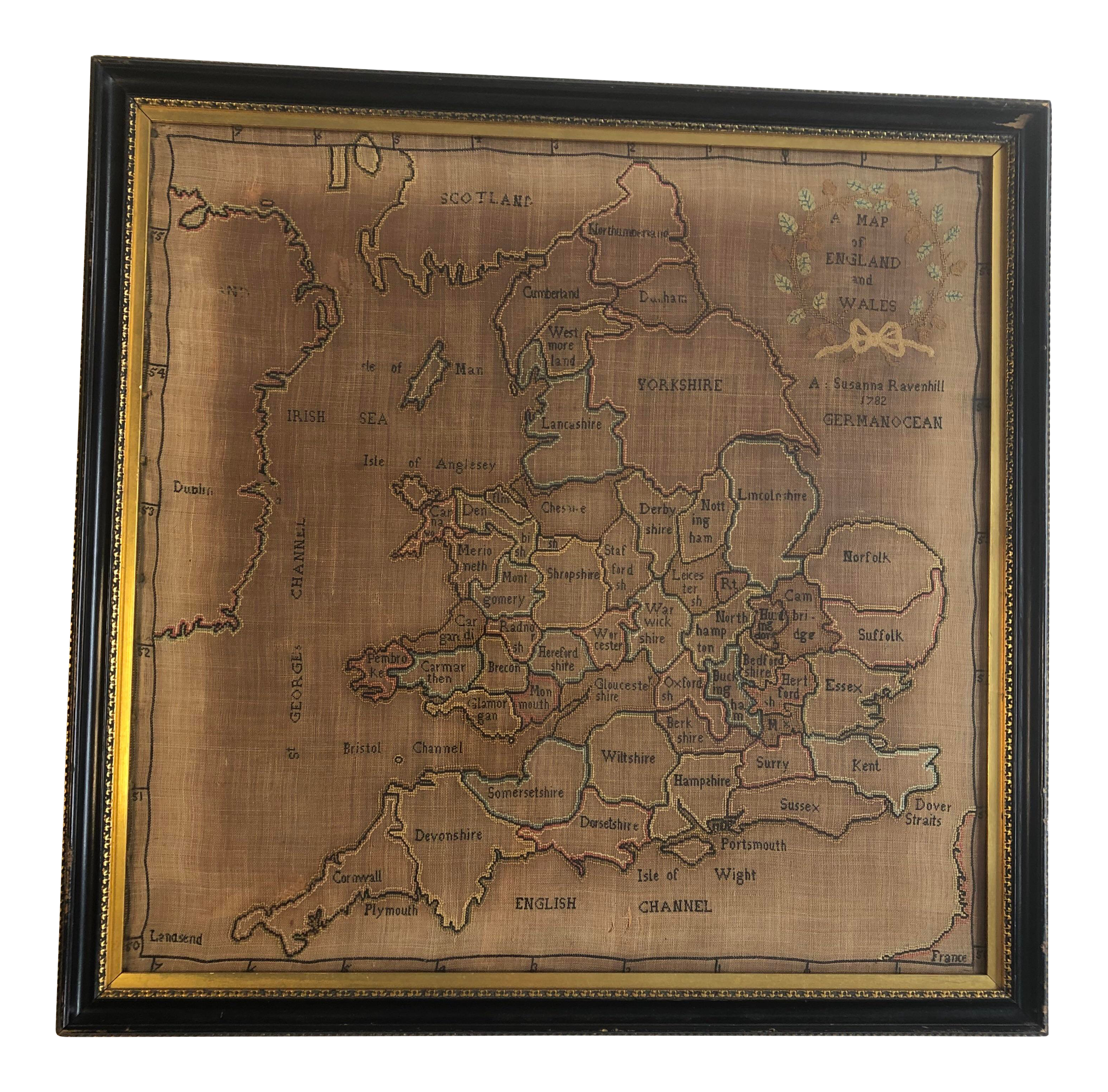 Vintage Used Maps For Sale Chairish
