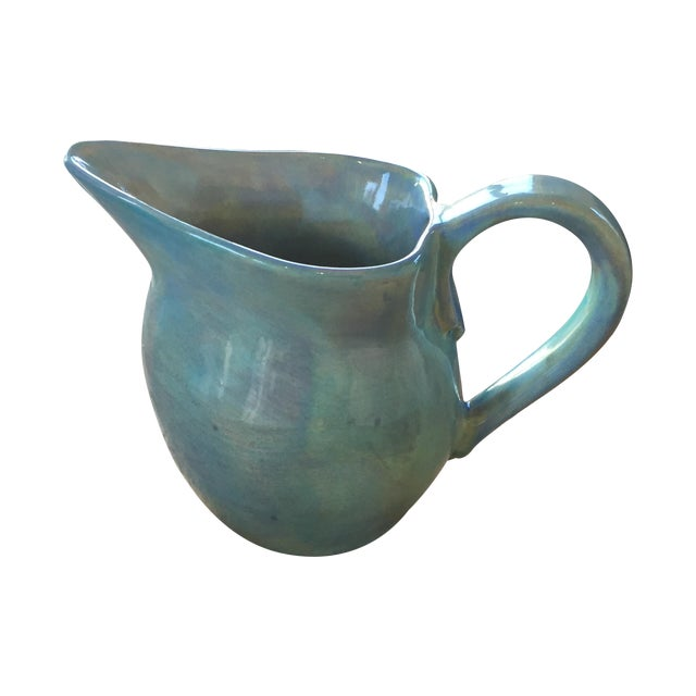 Soule Studio Small Melange Pitcher in Pool - Image 1 of 7