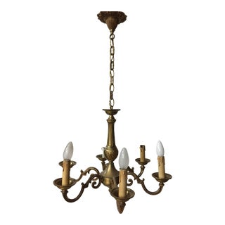 Bronze Lamps 6 lights For Sale