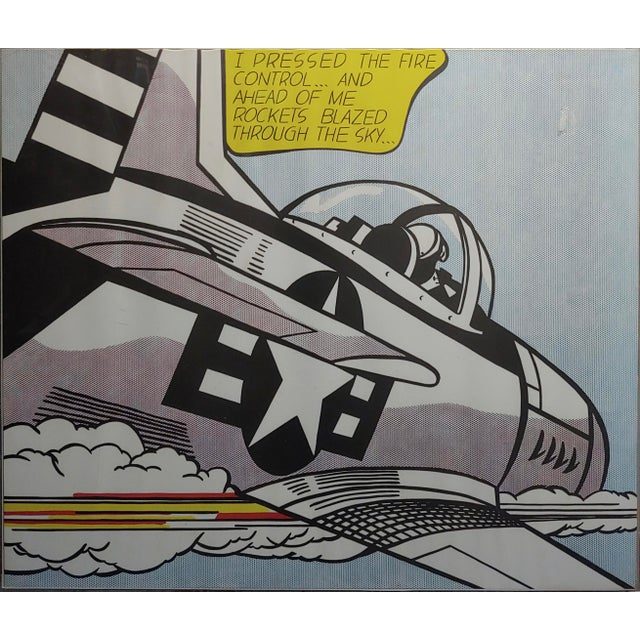 Roy Lichtenstein -Whaam ! - Vintage Lithographs - A Pair For Sale In Los Angeles - Image 6 of 12