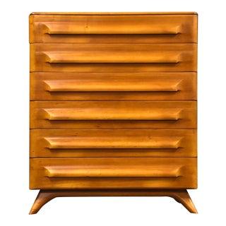 Franklin Shockey Sculptured Maple Dresser For Sale