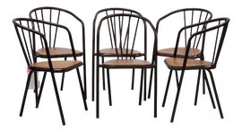 Image of Bronze Side Chairs