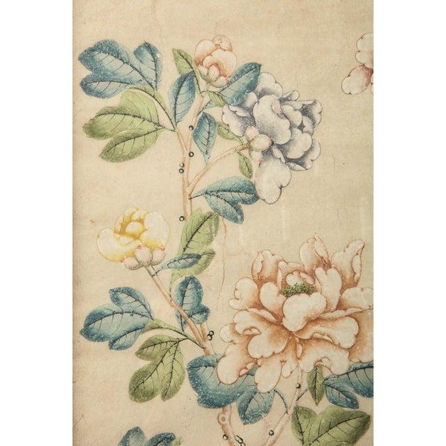 Framed Gracie Wallpaper Panel For Sale - Image 9 of 12