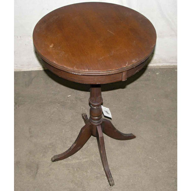 Antique Side Drink Table For Sale - Image 6 of 6