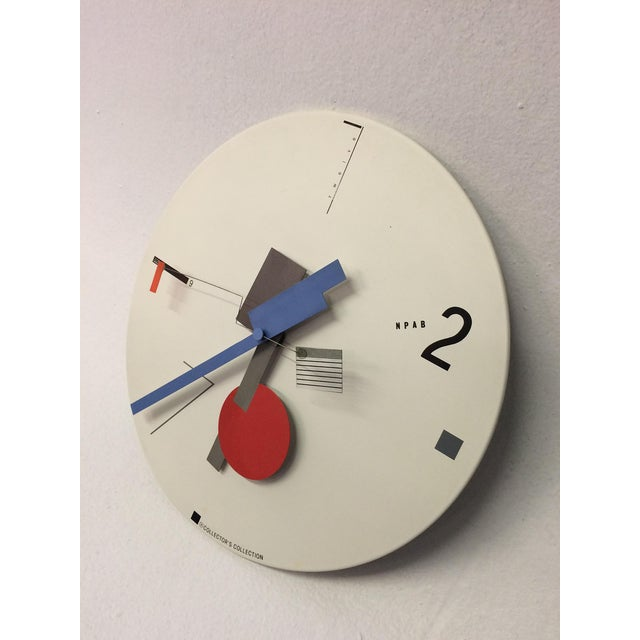 Constructivist Clock by Artek - Image 3 of 5