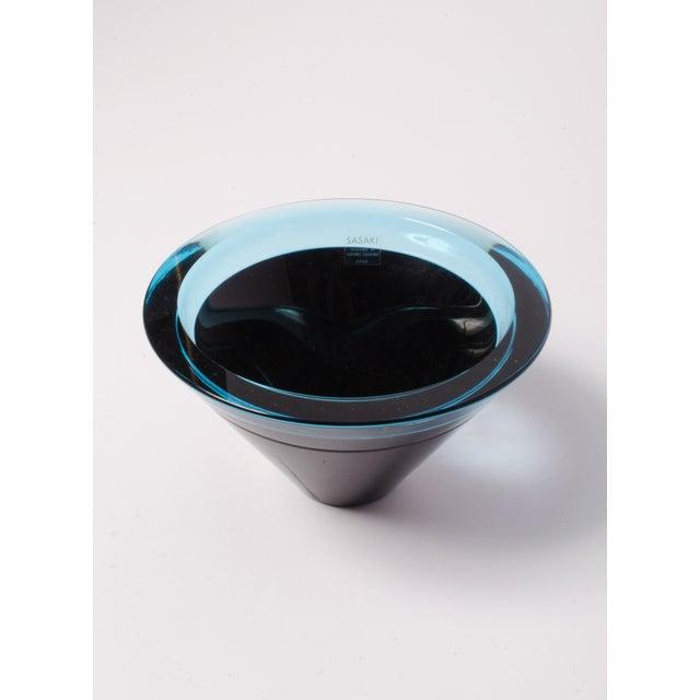 Mid-Century Studio Glass Bowl - Image 2 of 4