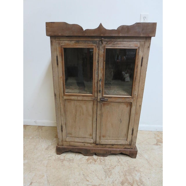 Antique Primitive Cupboard For Sale. Tight and sturdy ready to use.. This  item is a one of a kind - Antique Primitive Cupboard Chairish