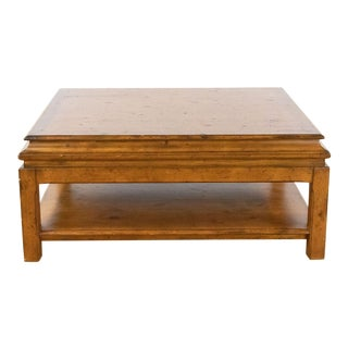 Rustic Ralph Lauren Coffee Table For Sale