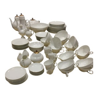 Bjorn Hiiblad China for Rosenthal Romance Pattern Dinnerware - 108 Piece Set For Sale