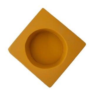 Yellow Plaster Doric Column Candle Holder Preview