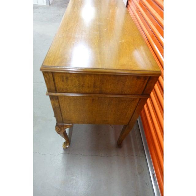 Antique 5-Drawer Writing Desk - Image 6 of 7