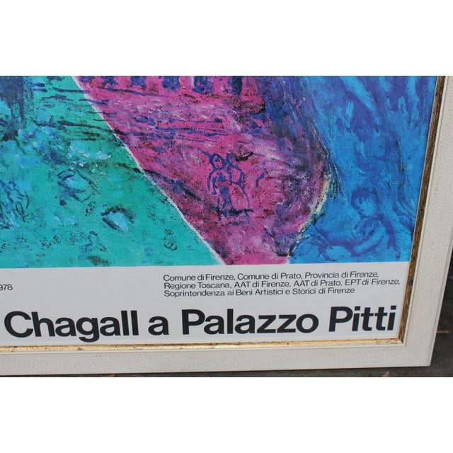 1970s 1978 Chagall Exhibition Poster For Sale - Image 5 of 7