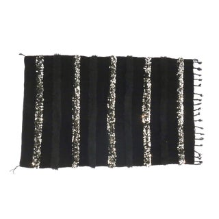 Noir' Moroccan Wedding Blanket For Sale
