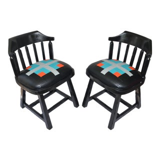 1950's Era Supper Club Side Chairs- a Pair For Sale