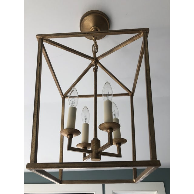 Traditional Darlana Lantern in Gilded Iron by Visual Comfort For Sale - Image 3 of 6