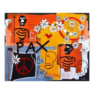 """Pax"" Original Artwork by Soren Grau For Sale"