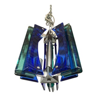 1970s Vintage Murano Glass Chandelier