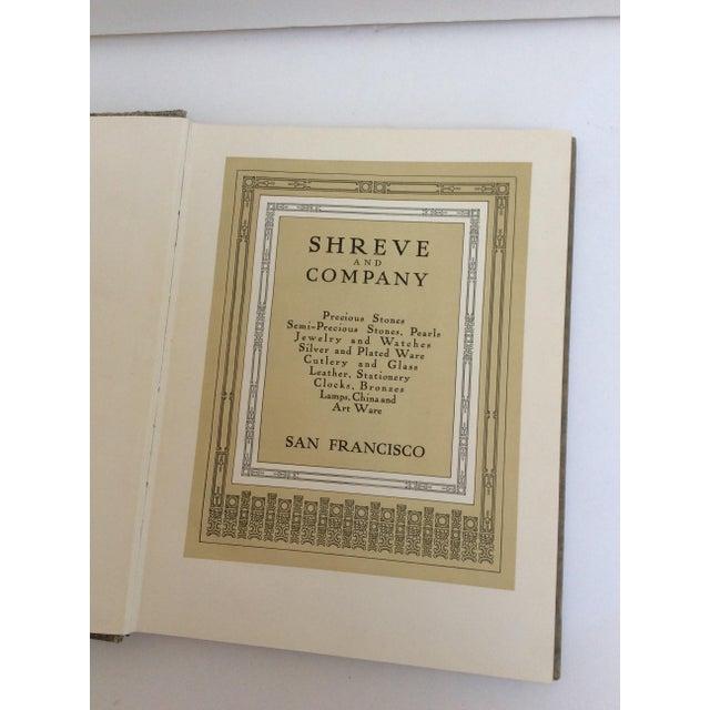 Shreve & Company Bronze Plaque Catalog Book For Sale - Image 4 of 11