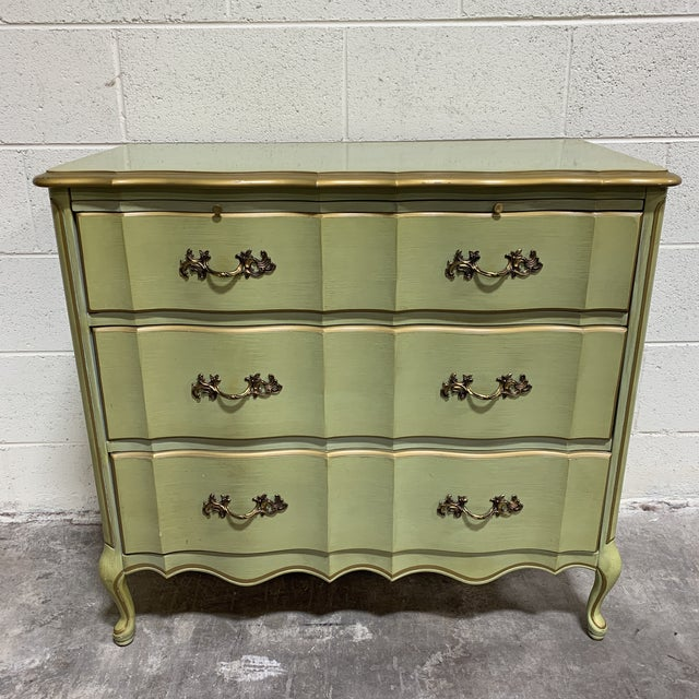 1970s Vintage Permacraft French Provincial Chest For Sale - Image 13 of 13
