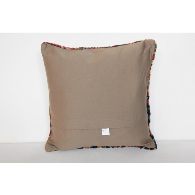 Antique Caucasian Rug Pillow For Sale - Image 9 of 10